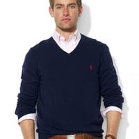 Polo Ralph Lauren Merino Wool V-Neck Sweater