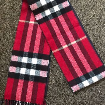 Burberry Double Face Cashmere Scarf