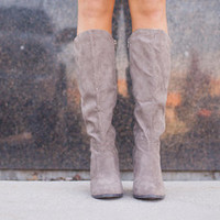 Cat Walk Boots taupe