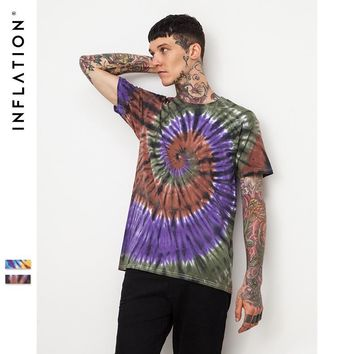 Short Sleeve Men's Fashion Twisted Handcrafts T-shirts [753822105693]