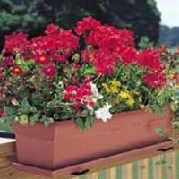 Novelty 16195 Countryside Planter, Terra, 18-Inch Length