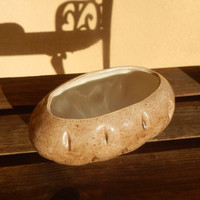 Potato Shaped small Serving Bowl ~ Planter
