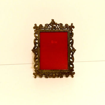Vintage picture frame Italian picture frame ornate picture frame Table frame Elegant picture frame