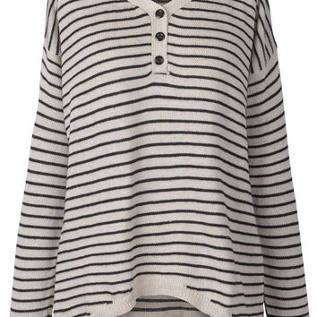Cupshe It's A Line Day Stripe Sweater