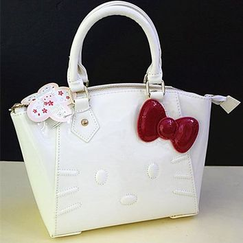 Xingkings New Hello kitty Handbag Shoulder bag Purse Tote Bags  XK-8202-1