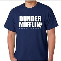 The Office Dunder Mifflin Inc Paper Company Custom Made T-Shirt