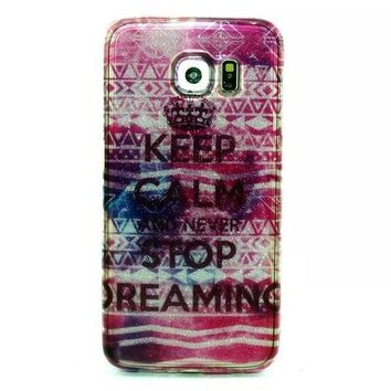 keep calm stop¡ Twinkle Silicagel Case Cover for iPhone & Samsung Galaxy-170928