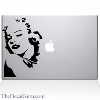 Marilyn MonRoe Macbook Decal | Macbook Vinyl Decals | The Decal Guru