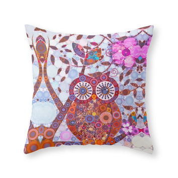 Society6 If Klimt Painted Throw Pillow