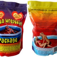 Bulk Jello Wrestling Supply Jello - Makes 100 Gal. Easy Set. No Refrigeration or Boiling Water Required.