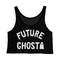 Future Ghost Crop Tank Top
