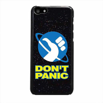 hitchhikers guide to the galaxy dont panic s5 iphone 5c 5 5s 4 4s 5c 6 6s plus cases