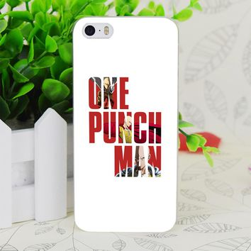 One Punch Man Typography Transparent Hard Thin Case Skin Cover