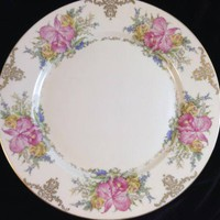 Rosenthal Winifred China Dinner Plate Orchids