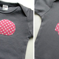 Nautical Baby Girl Clothes // Pink and Gray Girls Clothing // Set of Two Girls Baby Gift Set // Newborn Infant Nautical Clothing / veryKIKI