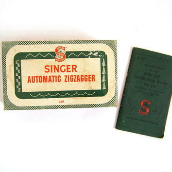Vintage Singer Automatic zigzagger sewing machine parts