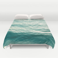 Blue Water Duvet Cover by The Last Sparrow