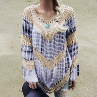 The Blake Tunic in Gray