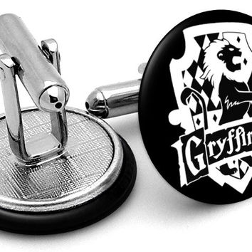 Harry Potter Gryffindor House Cufflinks