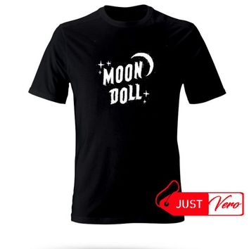 Moon Doll T shirt size XS - 5XL unisex for men and women