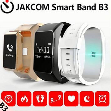 2017 new Jakcom B3 smart band watch new product of bluetooth earphone headphones With Custom Ear Plugs vs  mi banda 2  smartband