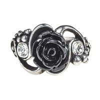 Alchemy Gothic Bacchanal Black Rose Ring