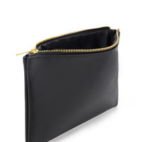 Textured Faux Leather Pouch - Women - 1000168650 - Forever 21 UK