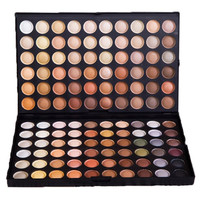 Cosmetic 120 Colours Earth Tone 2 Layers Eye Shadow Palette