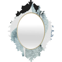 Georgiana Paraschiv AbstractM5 Baroque Mirror