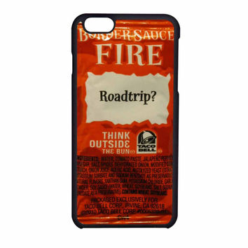 Taco Bell Sauce Packet iPhone 6 Case