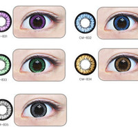 GEO Angel circle lenses - colored contacts - cosmetic contact lens | EyeCandy's