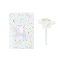 Cinnamoroll Ballpoint Pen and Notebook: Unicorn