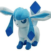 Pokemon Plush Glaceon Doll Around 24cm 9.5""