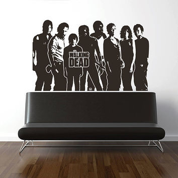 kik2966 Wall Decal Sticker series walking dead living room bedroom