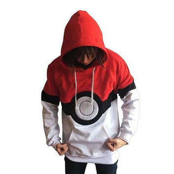Pokemon Go Print Hooded Sweater B0013513