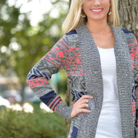 Cozy Nights Cardigan Sweater