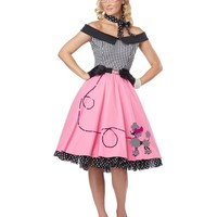 Nifty 50s Womens Costume | 1950S