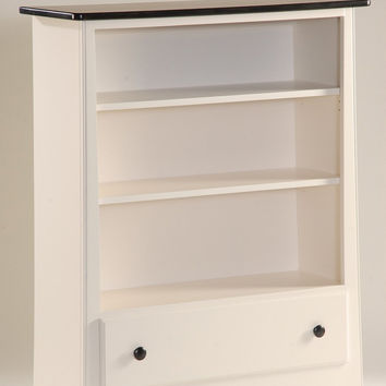 New England Shaker Single Drawer Bookcase