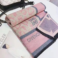 GIVENCHY Fashionable Women Men Warm Cashmere Cape Scarf Scarves Shawl Accessories