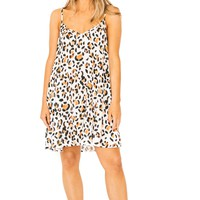 Cheetah Circus Mini Dress