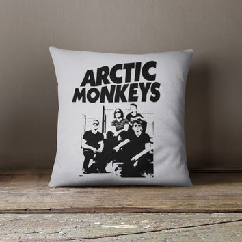 Arctic Monkeys Band Pillow Case, Cushion Case