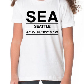SEA Airport Shirt  Kids