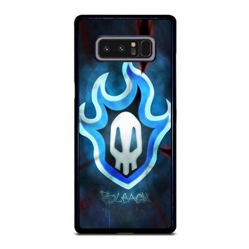 BLEACH Anime Logo Samsung Galaxy Note 8 Case Cover