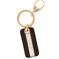 Henri Bendel Stripe Key Tag