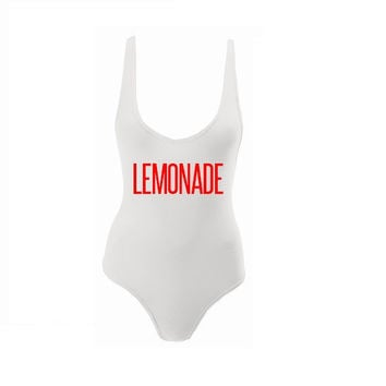 Lemonade on American Apparel Bodysuit