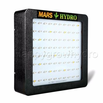 Mars Hydro Mars II 400 Led Grow Light Full Spectrum with IR lights Hydroponics Lamp for Indoor Box