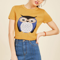 Says Hoot? Sweater