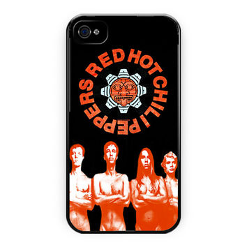 Red Hot Chili Peppers Custom iPhone 4/4S Case