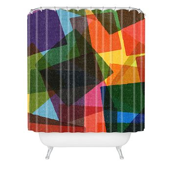 Nick Nelson Square Miles Shower Curtain