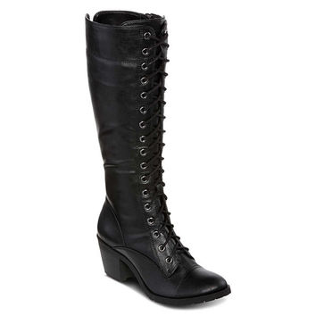 Arizona Lolly Tall Womens Lace-Up Boots - JCPenney